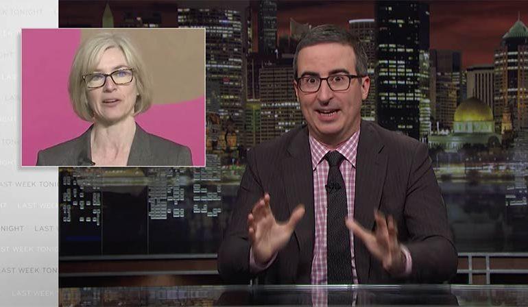 'Last Week Tonight' spotlights potential perils of gene editing